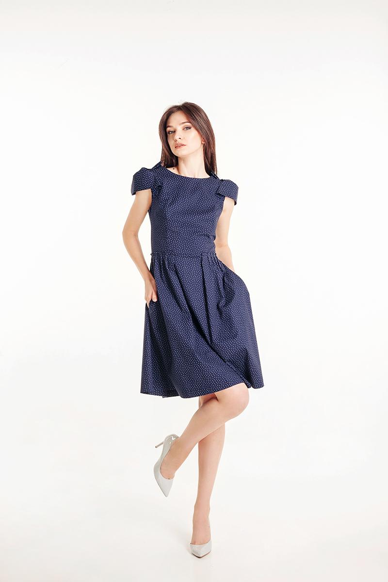 купить платье в горох