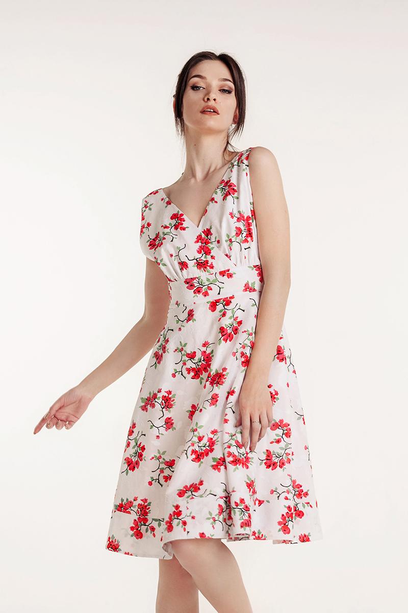 платье с открытой с пеной фото