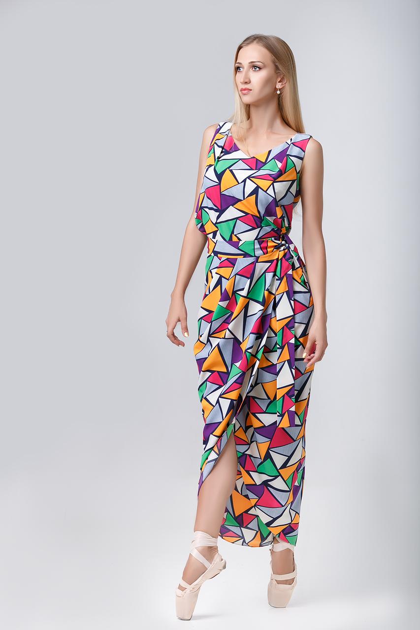 женский костюм геометрия
